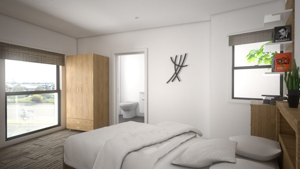 1 Bedroom Ensuite in a 2 Bedroom Apartment with Window
