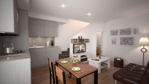 1 Bedroom Ensuite & Large Balcony in a 3 Bedroom Apartment